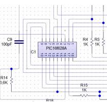 Diagrama Esquemático Tarjeta Codiplug Cm Lite, Motor 3 Cable