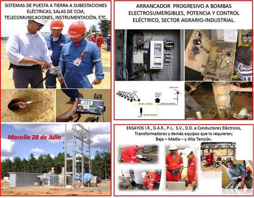 Puesta A Tierra, Servicios Generales Electricidad, Instrumen
