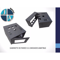 Gabinete De Pared 11 Unidades Hb11-c2-ex Plus Rack