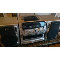 Equipo De Sonido Aiwa Ca-dw 247 Usado, En Buen Estado