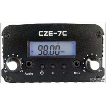 Transmisor Fm Stereo Usado 7 Watts 5km Stereo Emisora Radio