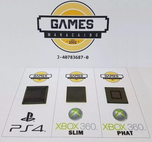 Reballing Ps4 Ps3 Xbox 360 Slim A Toda Prueba