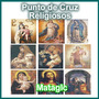Patrones Punto De Cruz Religiosos, Angeles, Comunion, Virgen