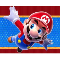 Kit Imprimible Mario Bros Recuerdos, Cumples, Diseña Tarjeta