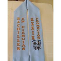 Estolas O Bufandas Sublimadas Para Graduación Y Promoción
