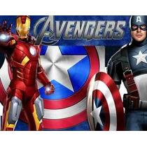Kit Imprimible Los Vengadores Avengers Cotillones Fiesta