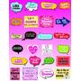 Habladores Kit Imprimible 100 Habladores Letreros Digitales