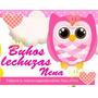 Kit Imprimible Buhos Hembra