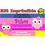 Kit Imprimible Buhos Niña,tarjeta,invitaciones,diseño,bebe
