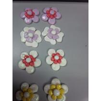 Apliques Para Ganchos, Lazos, Flores En Masa Flexible