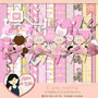 Kit Imprimible Baby Shower Nena 11 Imagenes Clipart