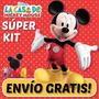 Kit Imprimible La Casa De Mickey Tarjetas Cotillon Cumpleaño