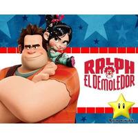 Kit Imprimible Ralph El Demoledor Diseñá Tarjetas, Cumples