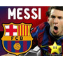 Kit Imprimible Barcelona Messi Diseñá Tarjetas, Cumples