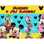 Kit Imprimible Mickey Y Sus Amigos Diseñá Tarjetas Cumples