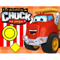 Kit Imprimible Chuck Y Sus Amigos Diseñá Tarjetas, Cumples