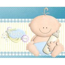 Kit Imprimible Baby Shower Nene Diseñá Tarjetas Y Mas