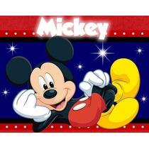Kit Imprimible Mickey Mouse Cotillón Invitaciones Fiesta