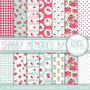 Kit Imprimible Pack Fondos Shabby Chic 78 Clipart