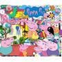 Kit Imprimible Pack Fondos Peppa Pig 16 Clipart