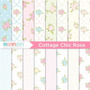 Kit Imprimible Pack Fondos Shabby Chic 69 Clipart