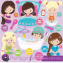 Kit Imprimible Aseo Personal 3 Imagenes Clipart