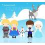 Kit Imprimible Frozen Imagenes Clipart