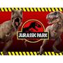 Kit Imprimible Jurassic Park Dinosuarios Diseña Tarjetas Mas