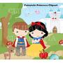 Kit Imprimible Princesa Blanca Nieves Imagenes Clipart