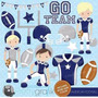Kit Imprimible Rugby 2 Imagenes Clipart