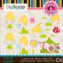 Kit Imprimible Tinker Bell Campanita 10 Imagenes Clipart