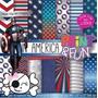 Kit Imprimible Pack Fondos Capitan America Clipart