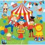 Kit Imprimible Circo Carnaval 2 Imagenes Clipart