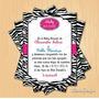 Kit Imprimible Baby Shower Animal Print Pdf Personalizado