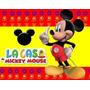 Kit Imprimible Mickey De La Casa De Mickey Mouse Y Mas 2x1