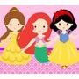 Kit Imprimible Princesas Bebe Baby Shower Invitaciones