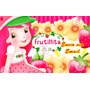 Kit Imprimible Frutillita Fresita Diseña Tarjetas Cotillon