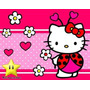 Kit Imprimible Hello Kitty Mariquita Diseña Tarjetas