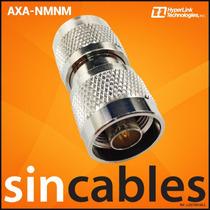 Hyperlink Adaptador N-macho A N-macho Axa-nmnm