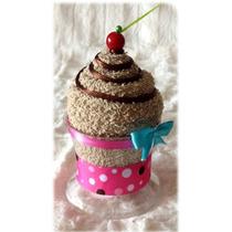 Recuerdos De Cupcakes Perritos Cars En Toallas