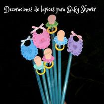 Decoración Lapices Recuerdos Nacimiento,baby Shower Foami