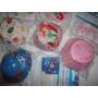 Capacillos Ponquesitos Topper, Princesas,globos,pelotas