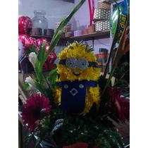 Arreglo Muñeco Flores Dia Enamorados Ramos Florales Amor
