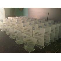 Placas, Reconocimientos Y Trofeos De Vidrios