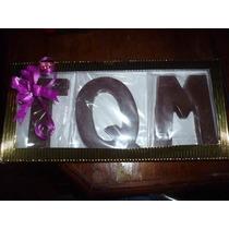 Bombones Personalizados Letras Nombres Te Amo Tqm Chocolates