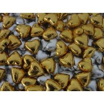 Bombones De Chocolate Corazones,coronas Bodas,15años Relleno