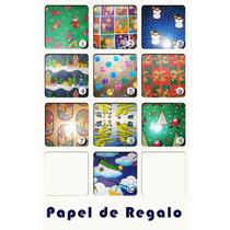 Papel De Regalo Navidad Y Otro. Infantil . Niño- Aviones