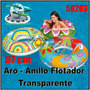 Anillo Flotador Inflable Adulto Con Asas 58263 Intex 97cm