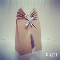Bolsas Creativas Para Regalos - Papel Kraft - M (paquete)