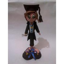 Graduación, Lapiceros En Forma De Graduando Para Recuerdo